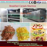 High Capacity stainless steel breakfast cereal corn flakes make machinery