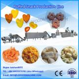Chees puffs snacks food machinery/Puffed corn snacks extruder