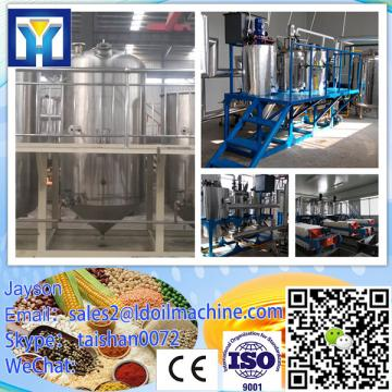 Full continuous system vegetable oil processing plant