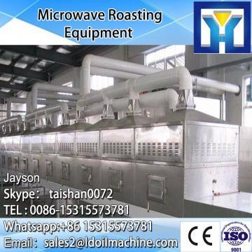 Teflon conveyor belt microwave spice drying &sterilization machine - goods from china