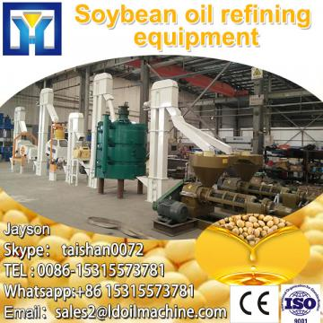 High efficiency plant machinery to process vegetable oil