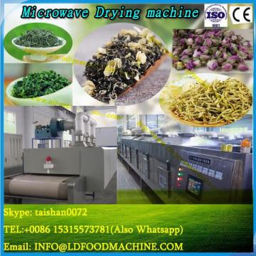 High efficiency industrial microwave vacuum dryer for duckweed