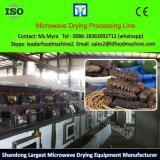 Microwave Wood Bamboo Drying Process Line