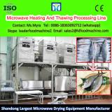 Microwave Egg yolk Curing And Drying Heating And Thawing Processing Line